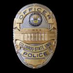 CSU police badge
