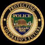 CSU police coin front